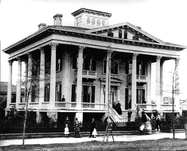Bellamy Mansion in 1873